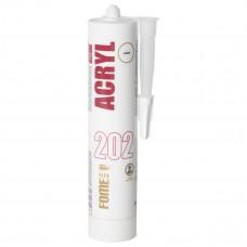 Akrilinis hermetikas Fome Flex ACRYL 202, baltas 310 ml