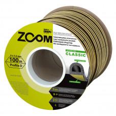 """Sandarinimo juostelė """"D"""", juoda, Classic ZOOM, 100 m"""