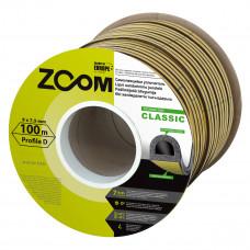 """Sandarinimo juostelė """"D"""", ruda, Classic ZOOM, 100 m"""