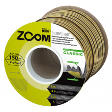 """Sandarinimo juostelė """"E"""", ruda, Classic ZOOM, 150 m"""