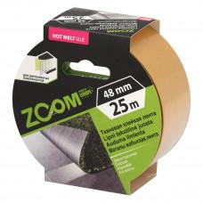 Dvipusė tekstilinė juosta 48 mm x 25 m, ZOOM