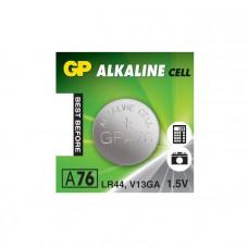 Galvaninis elementas GP A76 alkaline, AG13 (1,5V) 10 vnt.