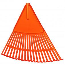 """Grėblys """"vėduoklė"""" plastmasinis P=48cm, VERTAS (RG2)"""