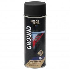 INRAL GROUND, juodas RAL9011, gruntas aerozoliniai antikoroz.