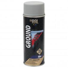 INRAL GROUND, pilkas RAL7040, gruntas aerozoliniai antikoroz.
