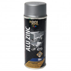 INRAL ALU ZINC, aliuminio, dažai aerozoliniai