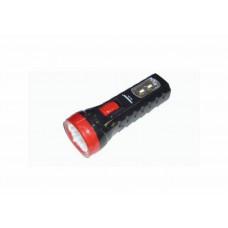 Įkraunamas žibintuvėlis 4 LED + 2 SMD LED, 120 m