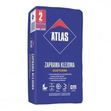 Plytelių klijai ATLAS ELASTINGAS 10 kg