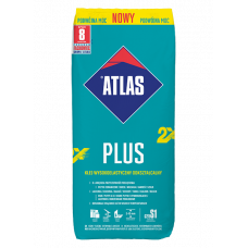 Atlas plus nowy plytelių klijai 25 kg