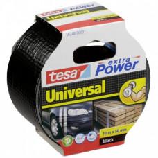 Armuota juosta extra Power Universal 10 m x 50 mm juoda