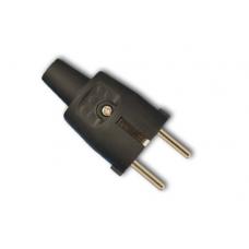 Tinklo kištukas pagumuotas su įžeminimu 16A, IP44