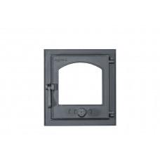 Židinio durelės su stiklu 370x395mm Z19