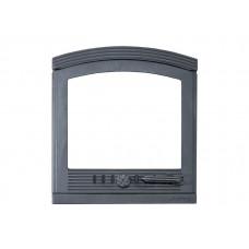 Židinio durelės su stiklu 460x500mm Z8