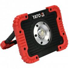 Diodinis reflektorius 10W akumuliatorinis,YATO