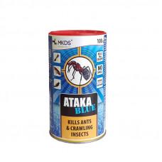 Insekticidas ATAKA BLUE skruzdėlėms naikinti, 100 g