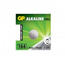 Galvaninis elementas GP 164 alkaline, AG1 (1,5V) 10 vnt.