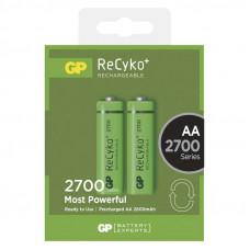 Įkraunama baterija GP ReCyko AA 1.2V, 2700mAh, 2 vnt.