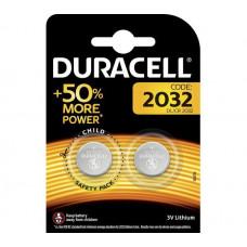 Elementas DURACELL CR2032-BL, 3 V, 2 vnt.
