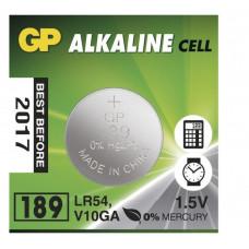Galvaninis elementas GP 189 AG10 (1,5V) 10 vnt.