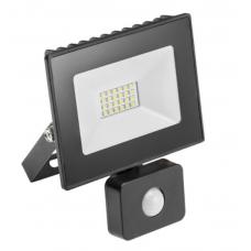 LED šviestuvas 10W su davikliu G-TECH GTV IP65, 4K, 700lm