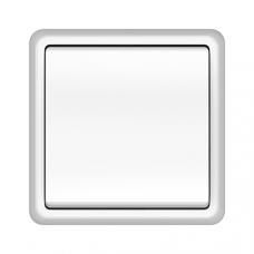 Jungiklis ST150 baltas, 1 klavišo, 1p, potinkinis su rėmeliu