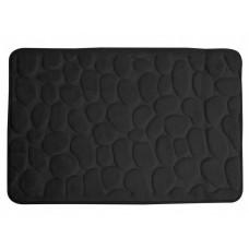 Vonios kilimėlis RIMINI 60 cm x 95 cm, juodas