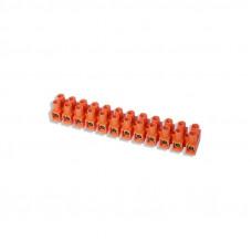 Kaladėlė sujungimo GTV 10mm* 12 kontaktų, oranžinė