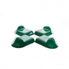 KamadoClub keraminės kepsninių kojytės, Žalios 3 vnt.