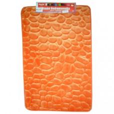 Vonios kilimėlis RIMINI 60 cm x 95 cm, oranžinis