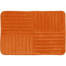 Vonios kilimėlis Toulon 80 cm x 50 cm, oranžinis