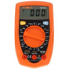 Skaitmeninis multimetras KT33