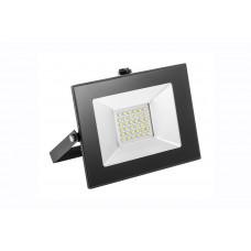 LED juodas šviestuvas POLAMP 20W, 4K, 2000lm, IP65