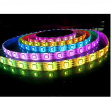 LED juosta 10.8W/m, 60LED/m, RGB, IP20 (5 metrai)