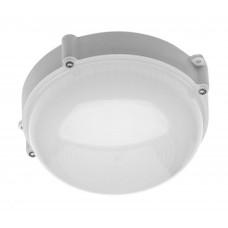 Šviestuvas GTV LUXIA OK LED 10W apvalus baltas, 700lm, IP65, 4000K, 180x180mm