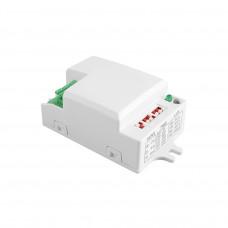 Mikrobanginis judesio daviklis SRC812mini 180*, baltas, 2-8 m. IP20 max 500W, GTV