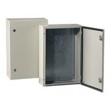 Montavimo skydas TIBOX ST2215, 200x200x150, IP66, metalinis, pilkas