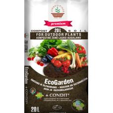 Kompostas EcoGarden daržams, 20 l