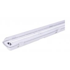 Šviestuvas hermetinis LED 2x120cm T8 LED, IP65, LUMIXA be refl.