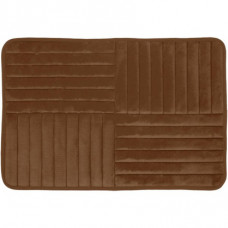 Vonios kilimėlis Toulon 80 cm x 50 cm, rudas