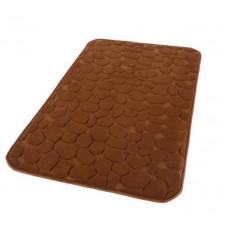 Vonios kilimėlis RIMINI 60 cm x 95 cm, rudas