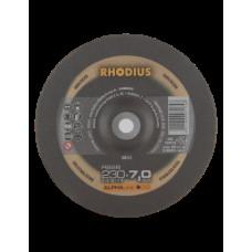"Metalo šlifavimo diskas ""RHODIUS"" 230X7X22,2 MM"