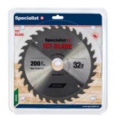 Pjovimo diskas 200x32Tx32 mm