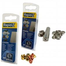 Žiedinės kniedės 6 mm + įtaisas, 25 vnt.