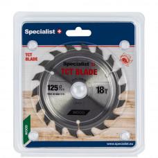 Pjovimo diskas 125x18Tx22 mm