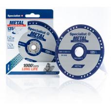 Deimantinis pj. diskas metalui 125x1,4x22,23 mm