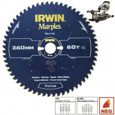 Pj. d. MARPLES 260x30Px60T 2,5 mm ATB/N