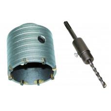 Adapteris su centr. grąžtu SDS+ 110 mm.