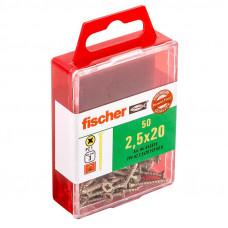Medsraig. FPF-SZ 2,5 x 20 YZ, 50 vnt.