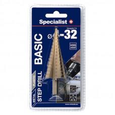 Specialist Basic Žingsninis grąžtas 4-32 mm