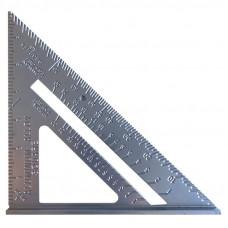 Aliuminis mat. trikampis 180 x 4 mm